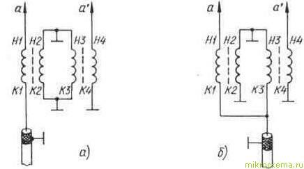 Схемы подключения ферритового симметрирующего устройства