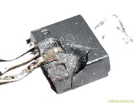 Пробитая ИМС TDA2050