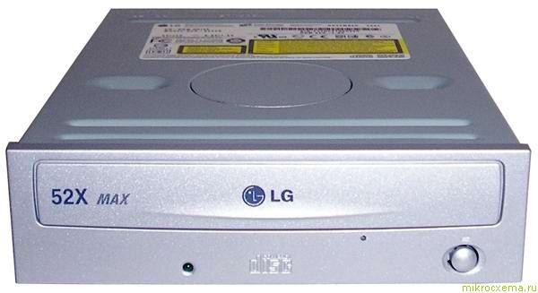 Внешний вид CD-ROM