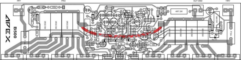 Ну, естественно, транзисторы оконечного каскада усилителя мощности нужно посадить на радиатор.
