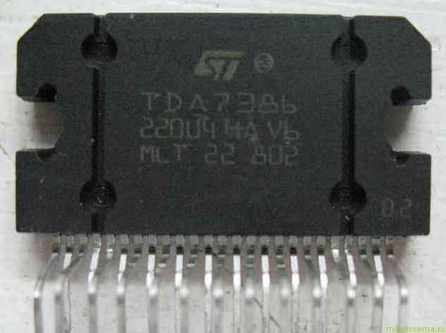 Микросхема TDA7386