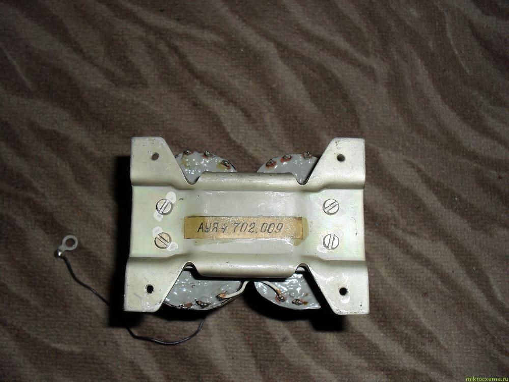 Трансформатор стержневой ленточный