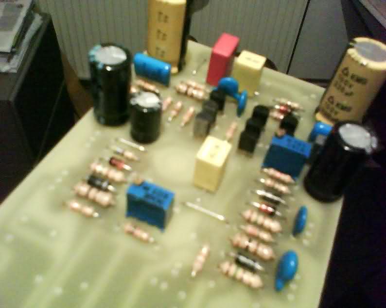 Входной каскад транзисторного усилителя мощности