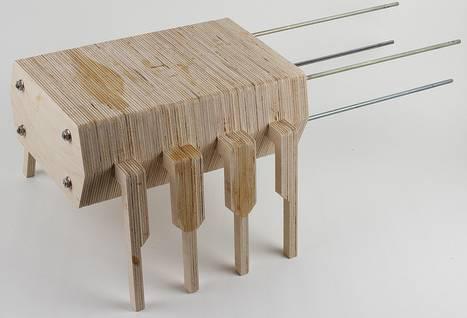 Сборка скамеечки для ног