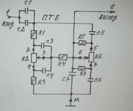 Схема темброблока